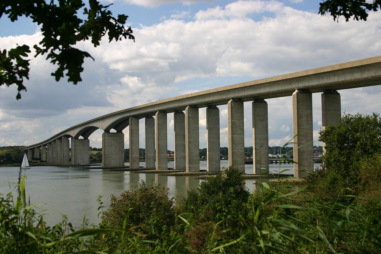 Orwell Bridge near Ipswich